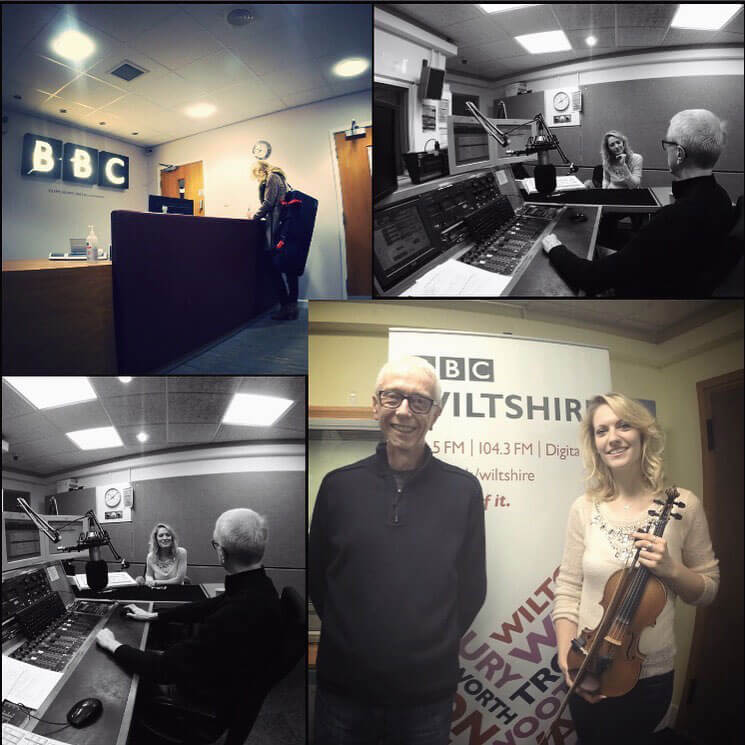 Interview with Dan Chisholm - BBC Wiltshire - 2016