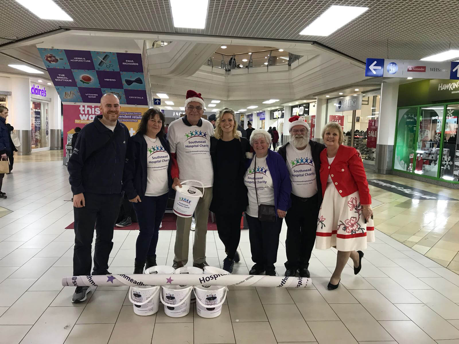 Performance for The Southmead Hospital Charity, Christmas Appeal, 2017
